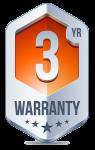 3 year warranty NVR