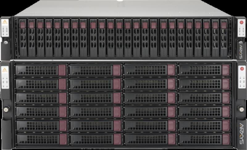 arrays into high availability storage